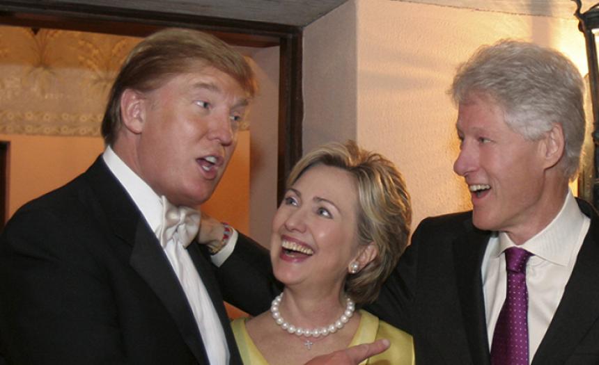 Трамп намерен «перемыть кости» семье Клинтон