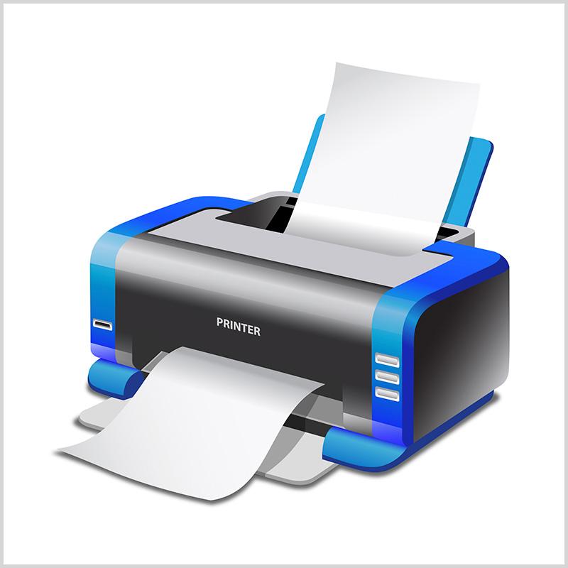 Уморительный анекдот осломанном принтере иего ремонте