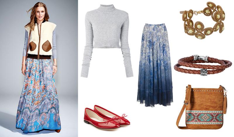 С чем носить меховой жилет: 7 модных образов