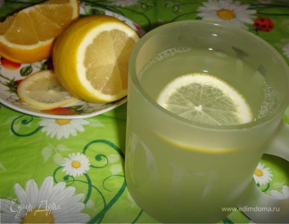 Имбирный напиток с цитрусовыми