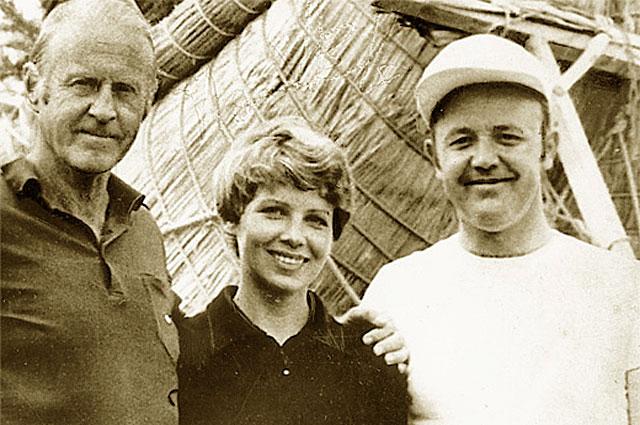 Колумб XX века. Сегодня исполнянтся 100 лет со дня рождения легендарного Тура Хейердала