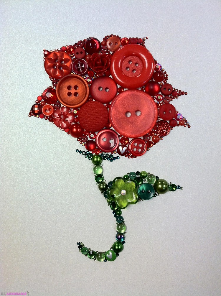 Поделка «роза»