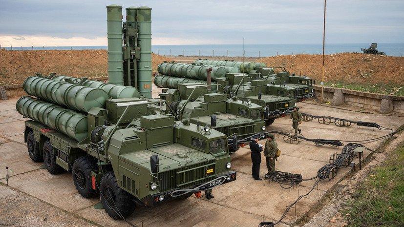 Четвертый дивизион С-400 развернули в Крыму недалеко от границы с Украиной