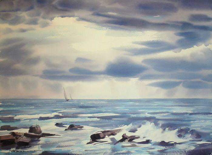 Морской пейзаж (700x512, 47Kb)