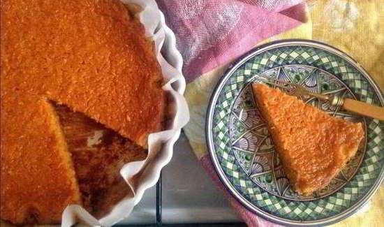 Великий пост: пирог на томатном соке