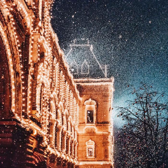 Сказочная Москва: 12 магическо-зимних фотографий Кристины Макеевой