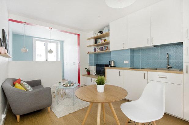 """Квартира-студия площадью 23 квадратных метра с мебелью из """"Икеи"""""""