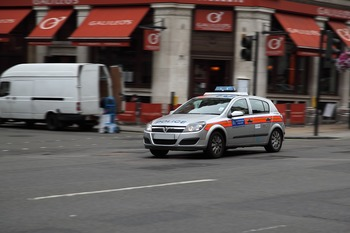На севере Лондона машина сбила сразу несколько пешеходов