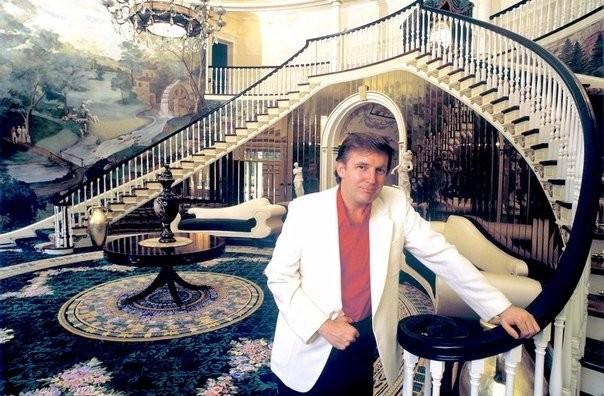 В гостях у Дональда Трампа, 1987 год история, события, фото