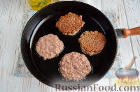 Фото приготовления рецепта: Экономные котлеты из печени и риса - шаг №6