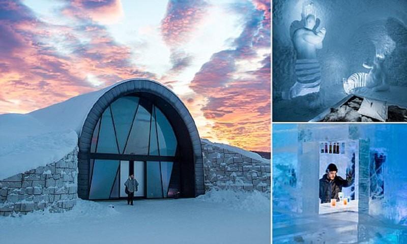 Шведы приглашают в отель, где даже летом можно промерзнуть до костей