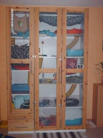 Шкаф для шиншилы