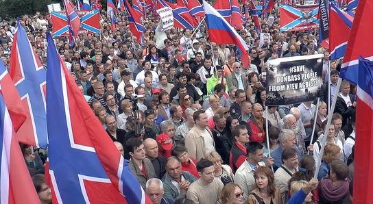 Инициатива Севастополя по митингу в поддержку Донбасса подхвачена другими регионами России