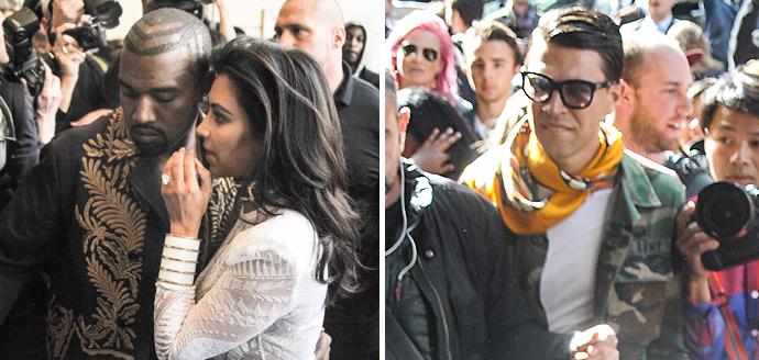 Kim Kardashian Attacked By Ukranian Prankster Vitalii Sediuk At Balmain Show!