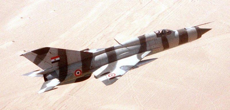 Советские летчики против ВВС Израиля.  <div id=