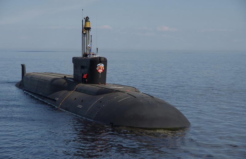 К-551 «Владимир Мономах»