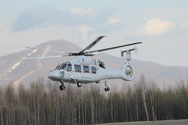 Новейший Ка-62 совершил первый полноценный испытательный полёт