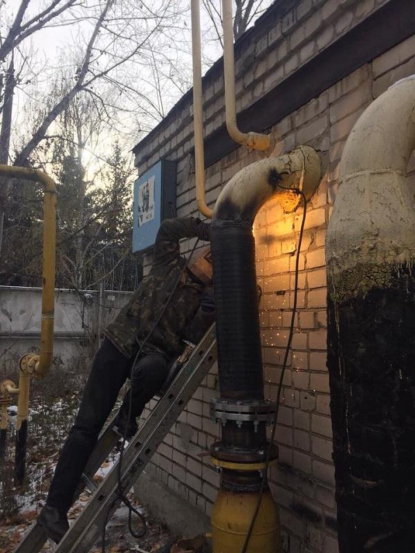 В украинской Смеле «патриоты» заварили газовые трубы, чтобы население не грелось