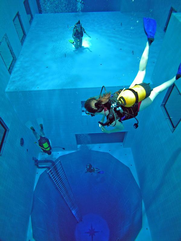 deepest 3 Самый глубокий бассейн в мире