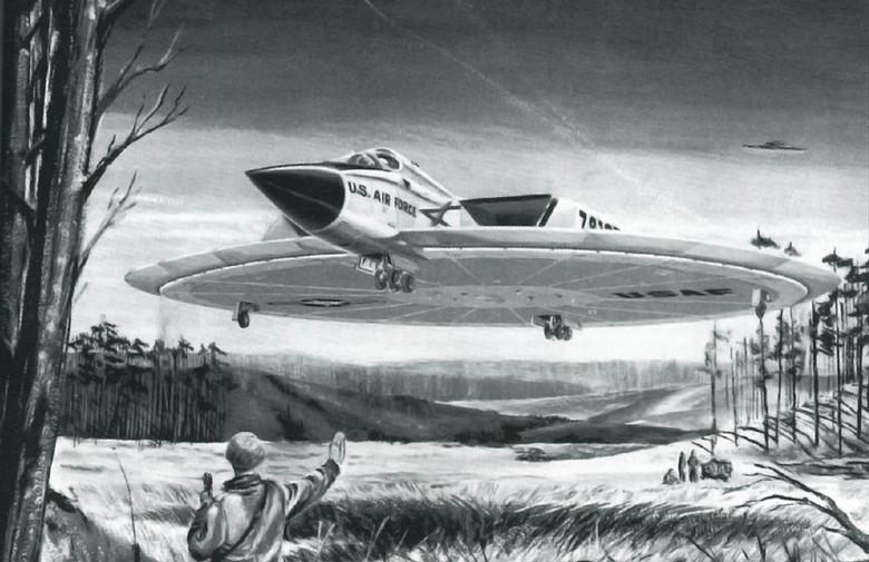 Секретные разработки дискообразного летательного аппарата фирмы «Канадиен Авро»