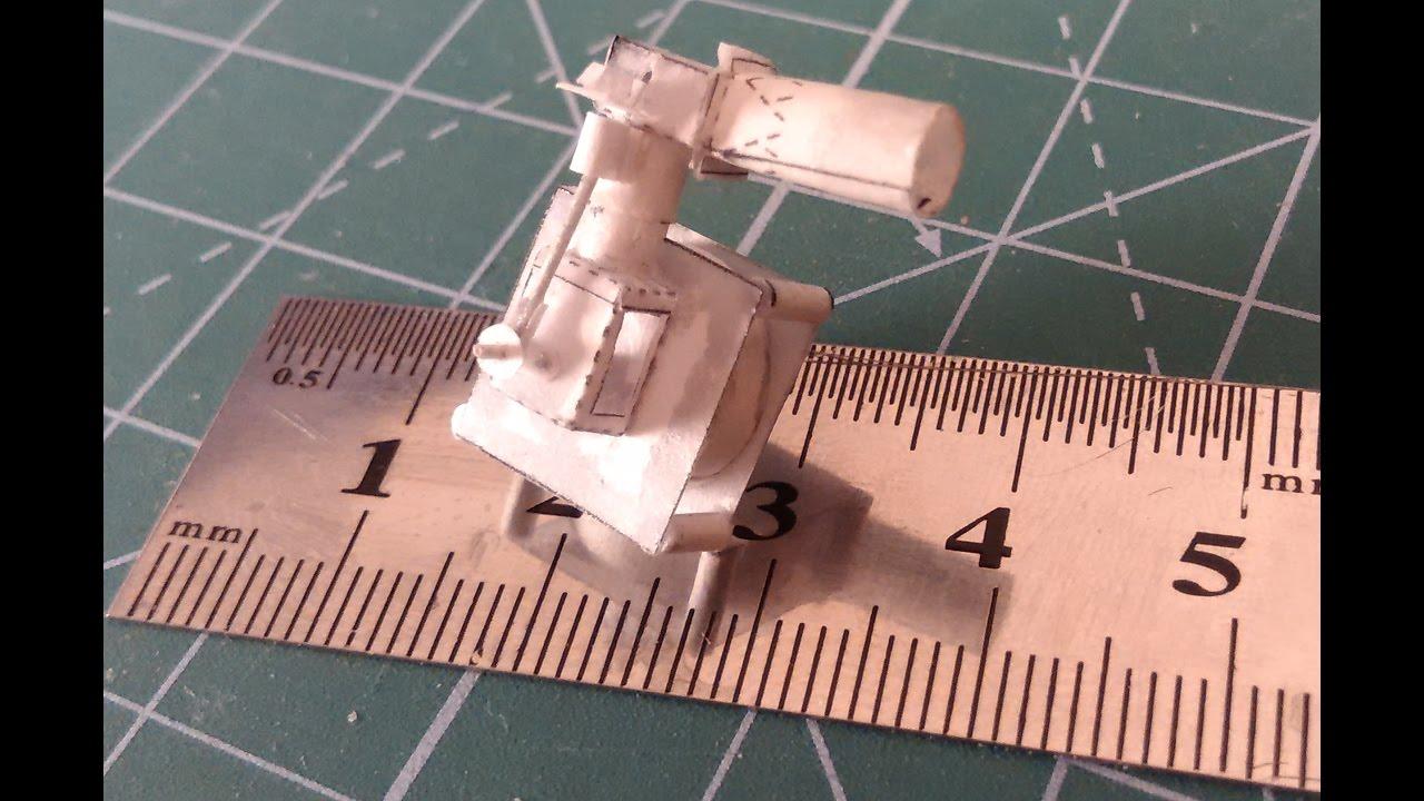 Бумажный двигатель как сделать