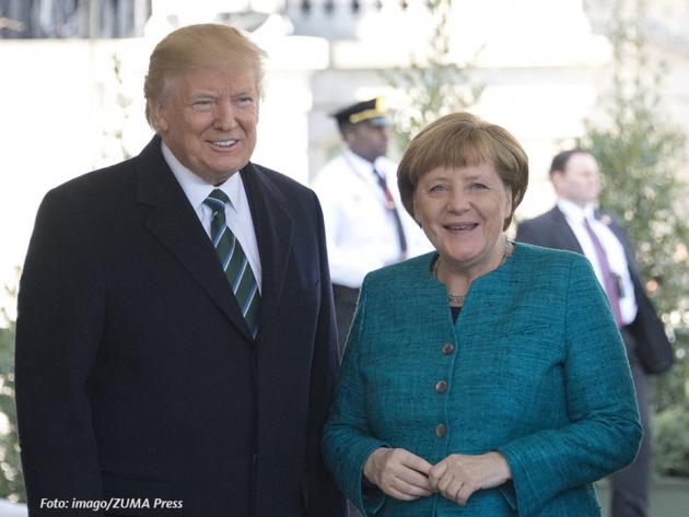 В Белом доме рассказали о причине отказа Трампа пожать руку Меркель