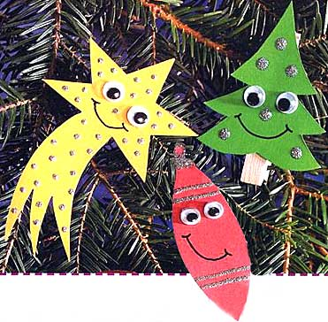 Новогодняя мягкая игрушка на елку своими руками