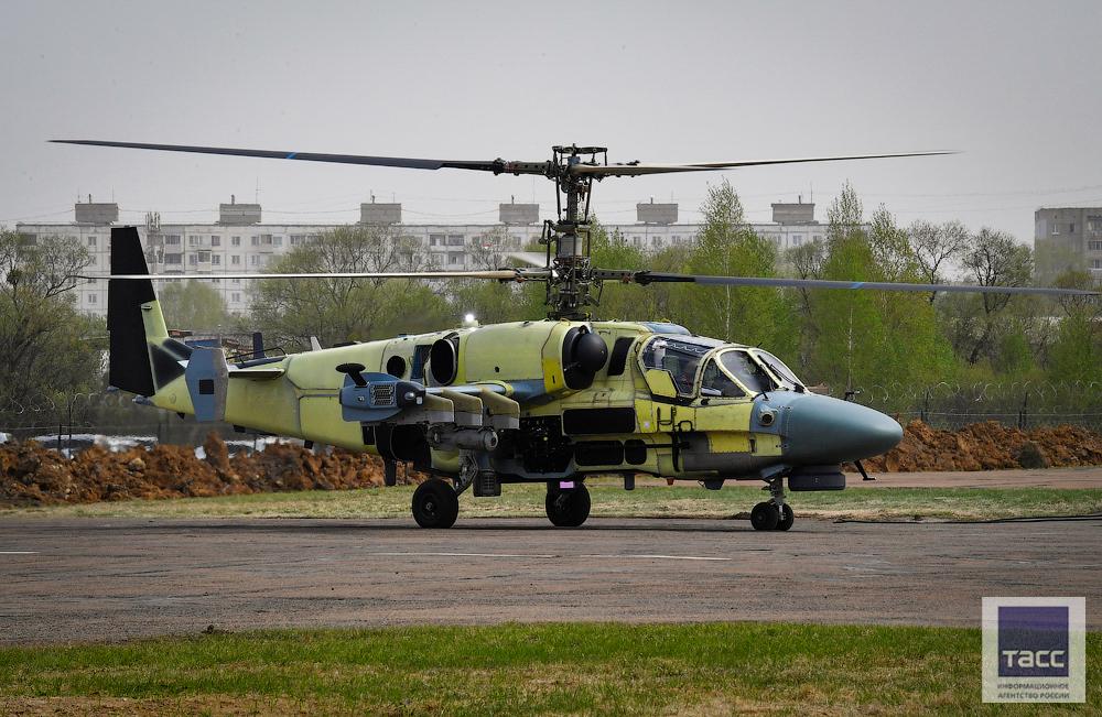 Новые подробности производства вертолетов Ка-52 для Египта
