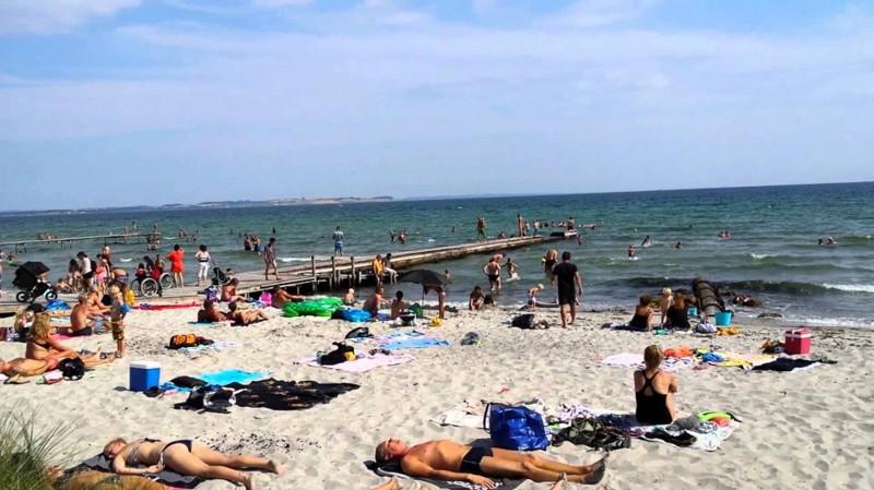 8. Пляж Bellevue – Копенгаген, Дания вокруг света, нудисты, пляж