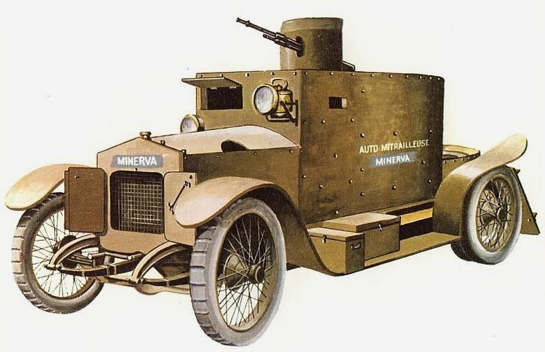Бронеавтомобиль Minerva (Бельгия)