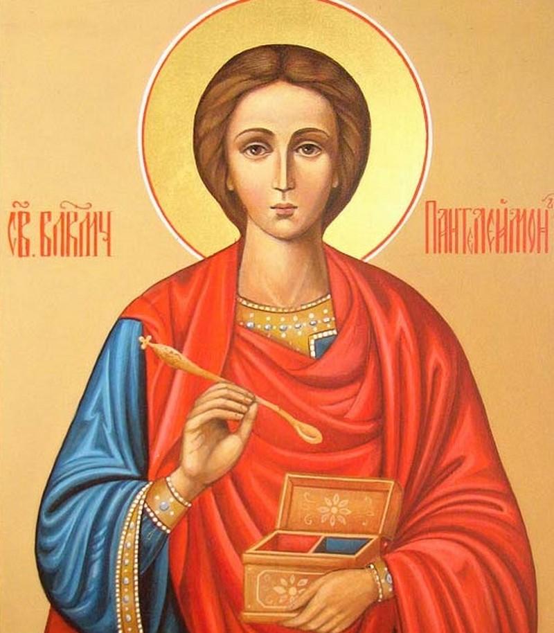 молитва о здравии ребенка пантелеймону