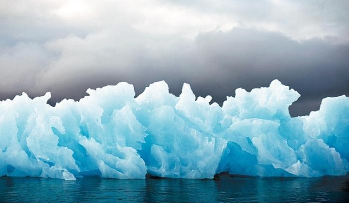 Ледяные хребты.