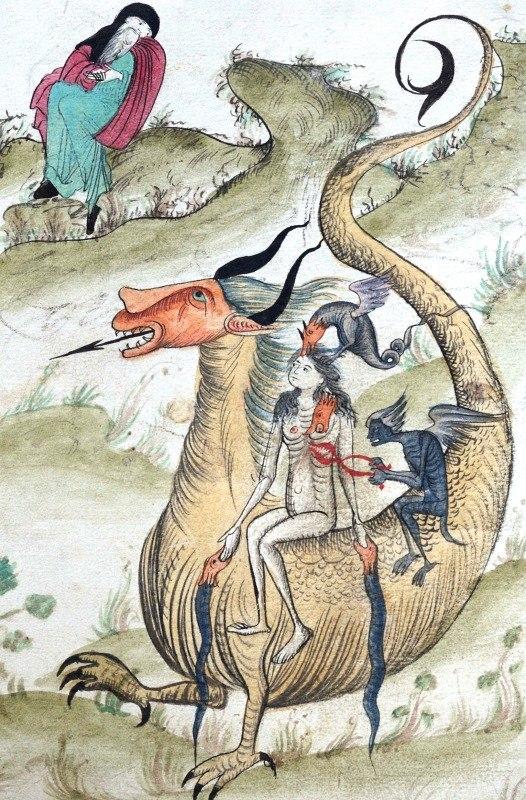 Змеи и драконы в древнерусской иконографии