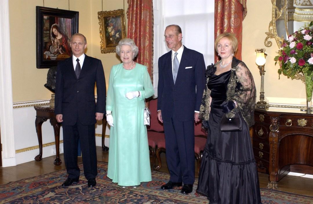 Queen Philip Putin Wife