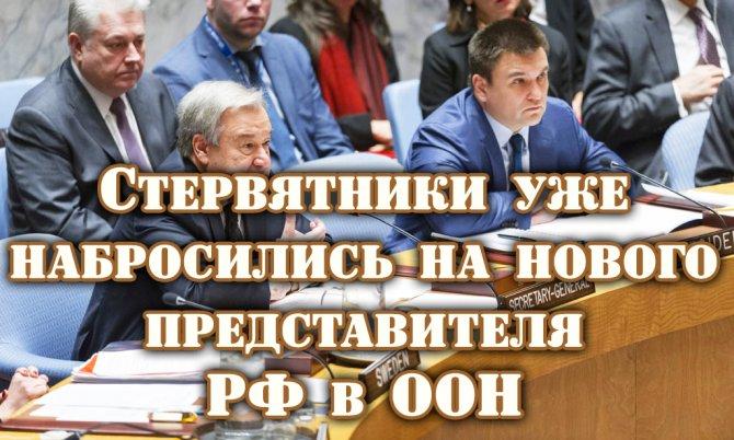 Крысы показали своё лицо! Постпреды ЕC, США и Укpaины набросились на нового представителя РФ в ООН(ВИДЕО)