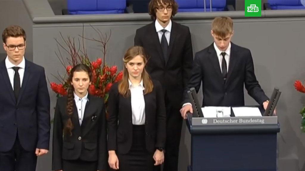 Мать школьника из Нового Уренгоя прокомментировала его выступление в бундестаге
