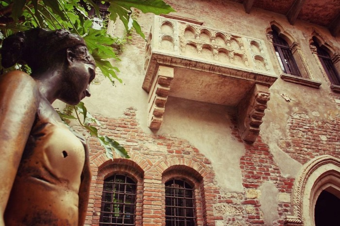 Дом Джульетты - самое романтическое место в Вероне