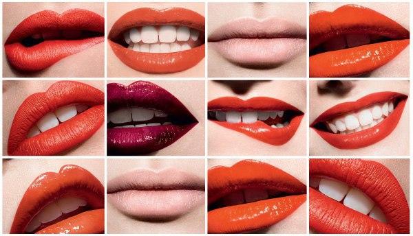Характер по форме губ