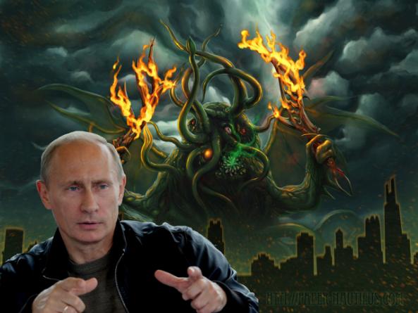 Попытки демонизировать Путин…