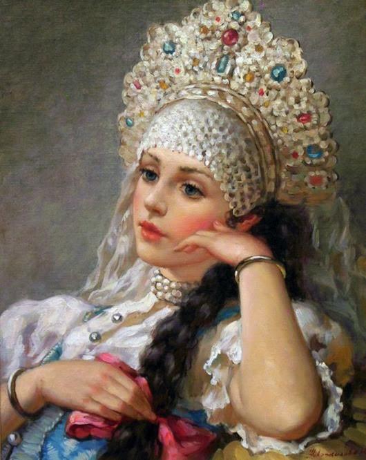 Коса - эталон женской красоты на Руси
