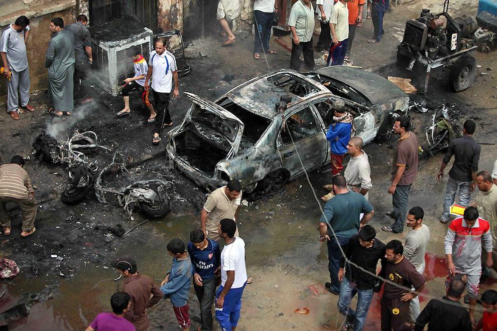 Теракты в Багдаде унесли жиз…