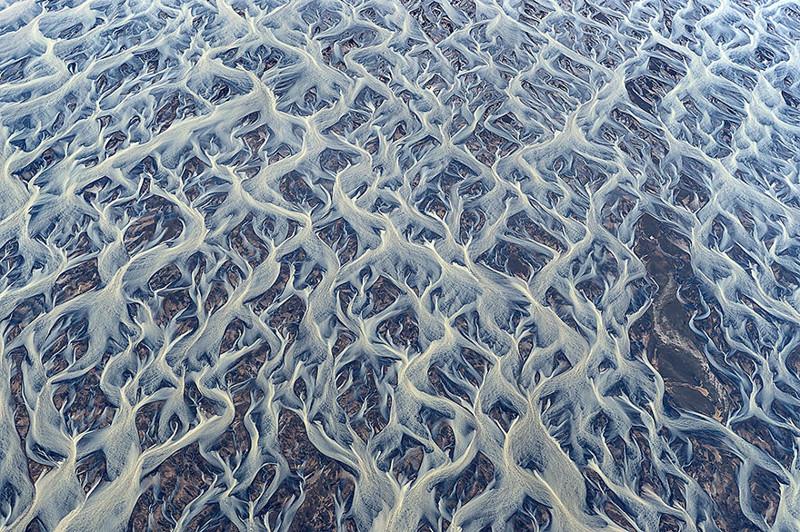 5. Замерзшая река в Исландии виды, исландия, красота, фото