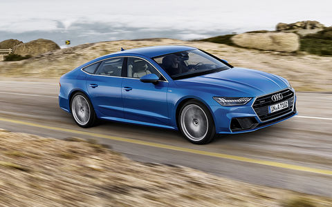 Новая Audi A7 Sportback — вся на сенсорах