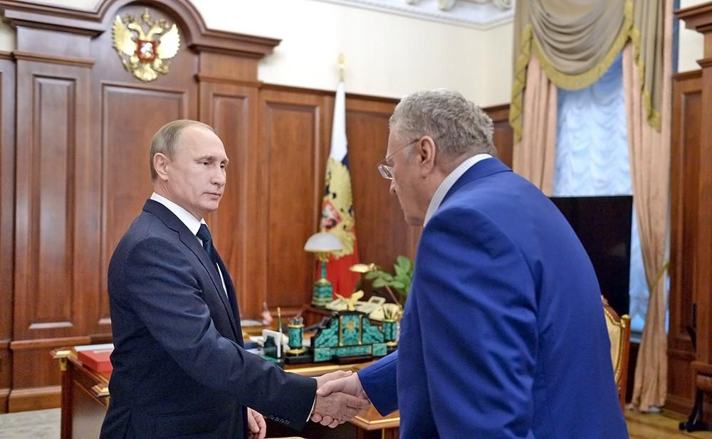 """Жириновский предложил называть президента """"Ваше Величество"""""""