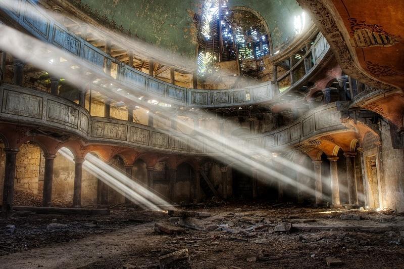 Заброшенные места вфотографиях Винсента Янсена
