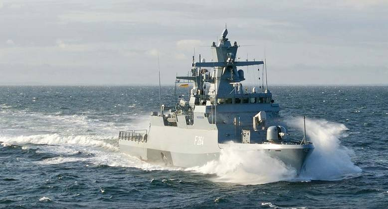 Германия заказала 5 корветов класса K-130