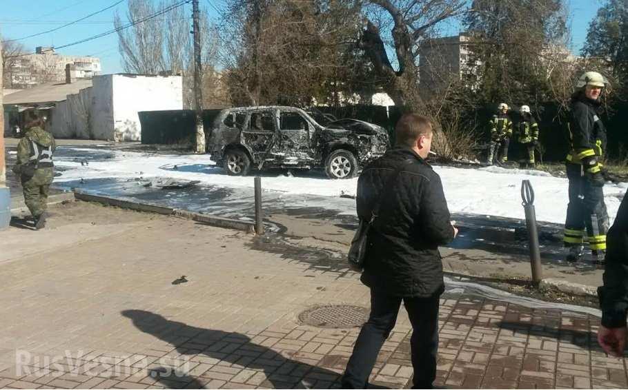 В Мариуполе взорван полковник СБУ