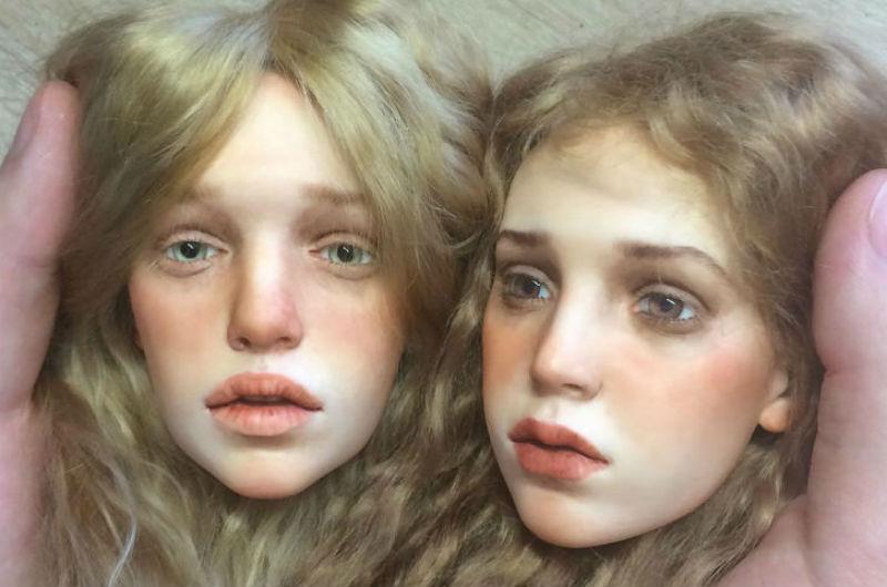 Художник создает настолько реалистичных кукол, что аж мурашки по коже