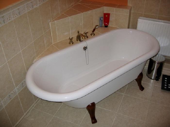Убираем ванную комнату быстро и легко