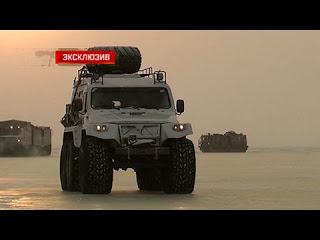 Уникальные кадры испытаний новейшей военной техники в Арктике